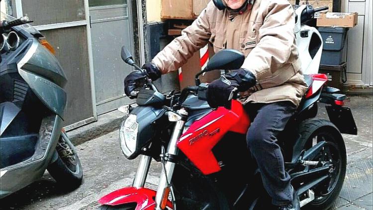 Zero SR, la moto elettrica con…ironia