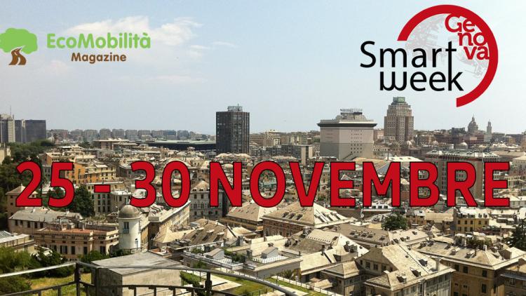 Smart Week di Genova tra conferenze e test drive
