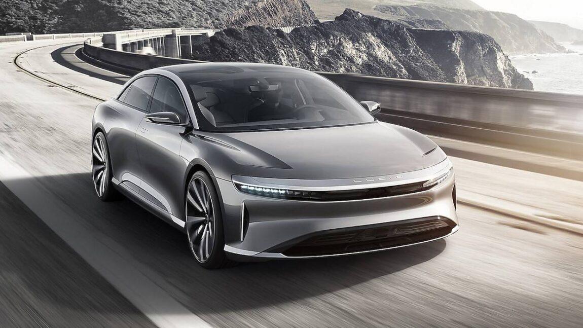 Lucid Air ….. il concorrente della Tesla