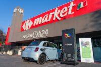 Carrefour, FCA e Be Charge: la ricarica delle auto elettriche