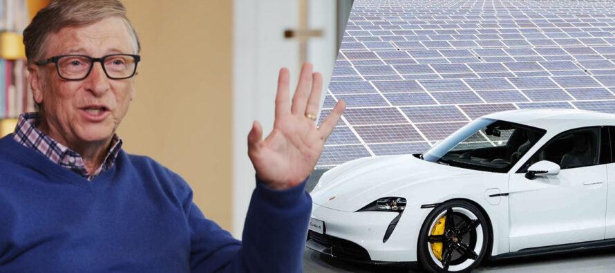 Per Bill Gates le auto elettriche non bastano
