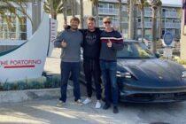 Cannonball Run e la Porsche Taycan