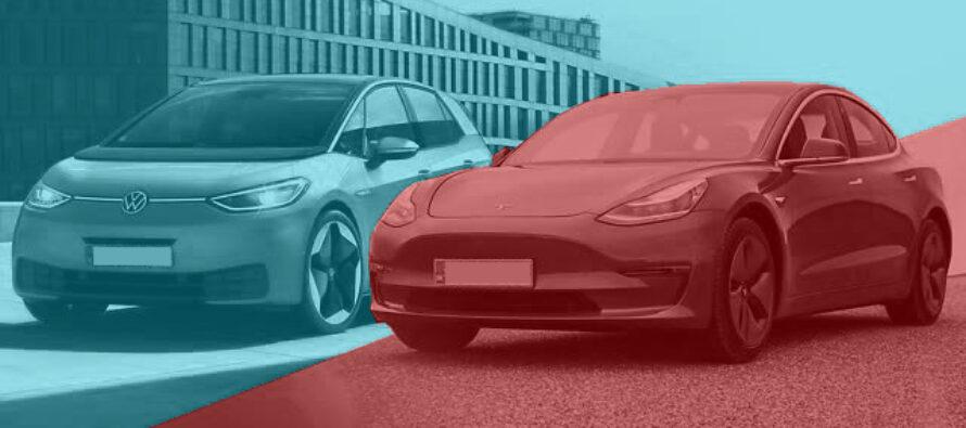 Volkswagen potrebbe superare Tesla già nel 2021?