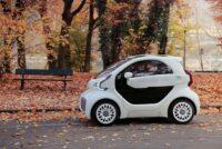 Auto elettriche prodotte con stampa 3D
