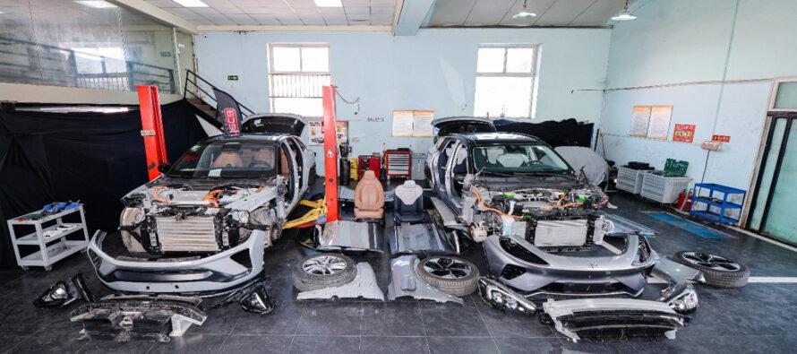 Le auto elettriche sono le più riciclabili