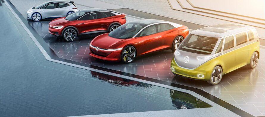 Volkswagen mira al milione di auto elettriche nel 2021
