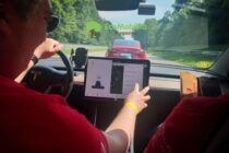 La manifestazione Tesla Revolution 2021